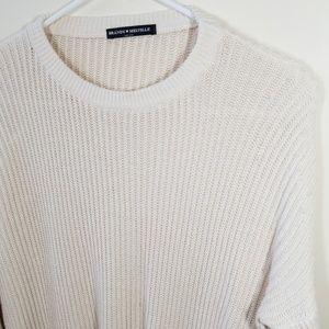 Brandy Melville Sweaters - Brandy Melville | cream Ollie knit sweater